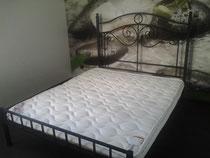кровать купить в тюмени кованую недорого