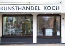 Kunsthandel Olaf Koch Braunschweig Antiquitäten Aussenansicht