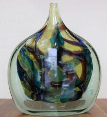 Vase der Manufaktur Mdina aus Malta ca. 1960
