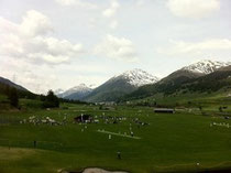 2013 Junior cricket tournament in Zuoz, Switzerland