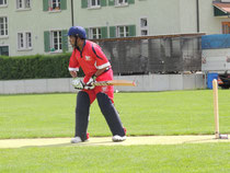 WCC's Prafull Shikare at the crease
