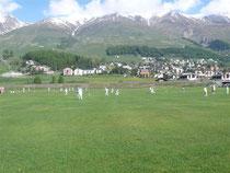 Zuoz Lyceum Alpinum playing fields