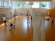 Cricket camp session