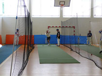 Cricket camp indoor nets