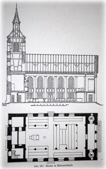 Bauplan nach Friedrich Weinbrenner
