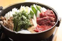 会津名物桜肉鍋