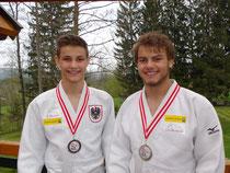 Silber- u. Bronzemedaille bei ÖM