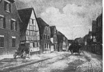Die alte Hauptstraße