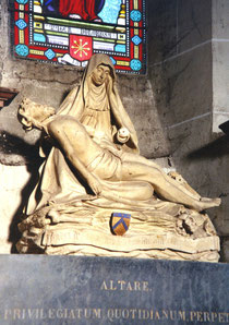 Die Pieta in der Kapelle