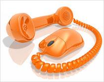 AD-RADIO gehört gesendet - Audiodienstleistung - Hannover - Telefon und Maus