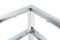 Marcel Design Tisch SIGNUM Chrom