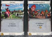 Königreichkarten: Dorf & Jahrmarkt