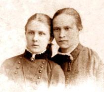 Вера Кожевина и Наталья Плюснина