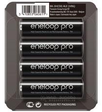 Panasonic ENELOOP PRO BK-3HCDE/4LE
