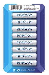 Panasonic ENELOOP BK-4MCCE/8LE