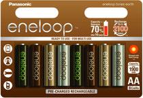Panasonic Eneloop Tones Earth