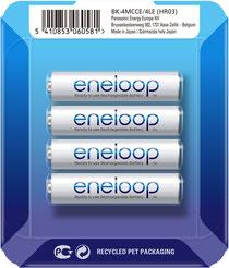 Panasonic ENELOOP BK-4MCCE/4LE