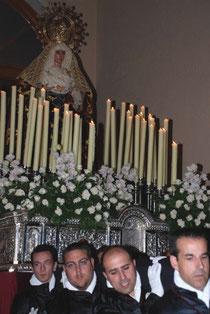 Nuevo trono Orfebrería Sevillana