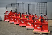 KGD Log Winch series / Skidding Winches