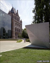 Tsunami victims' families were consulted over the memorial's design