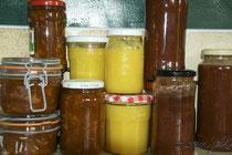 pumpkin marmalade, lemon curd & BBQ sauce