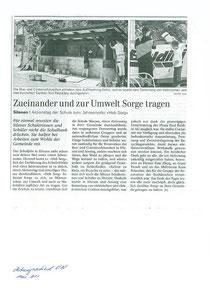 "Aktion ""heb sorg"" - Gemeinde Silenen/Amsteg"