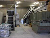 Shredderanlage für Kunststoff und EBS