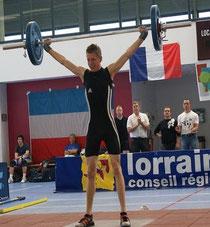 Hendrik Schmitt mit 70 kg