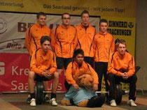 erste Mannschaft KSV Hostenbach