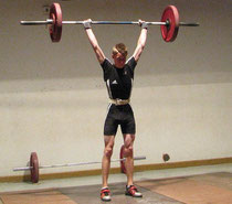 Fabian Schmitt konnte beim letzten Kampf bereits 80 kg Stoßen