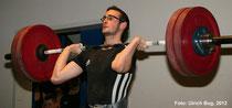 Felix Rupp mit 129 kg auf der Brust