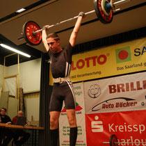 Dennis Nenno mit gültigen 88 kg.