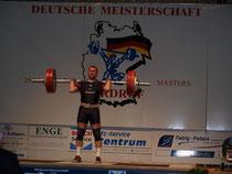 Alexander Meinhardt-Heib mit umgesetzten 135 kg