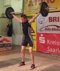 Hendrik Schmitt mit neuem persönlichen Rekord an 71 kg