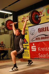 Peter Schorr mit 132 Kilogramm