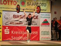 Fabian Schmitt mit neuem Saarrekord im Stoßen