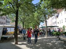 Fußgängerzone Weiden