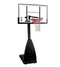 68454 Spalding/Huffy Portable Glass Basketball System