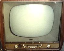 Combiné TSF télévision des années 50