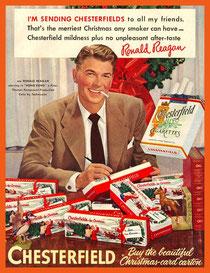 Ronald Reagan acteur - Publicité