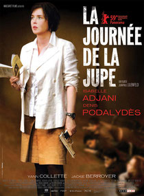 Isabelle Adjani la journée de la jupe