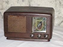 Poste de radio des années 50
