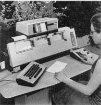 Perforatrice de cartes Bull P112  1969