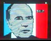 Image minitel de Mitterrand