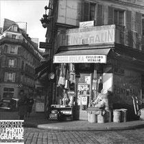 Droguerie à Paris en 1957