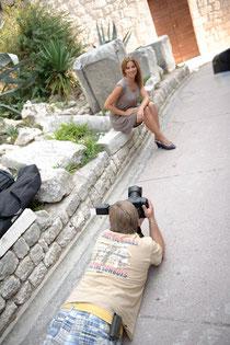 Eike Kasten, Fotoshooting