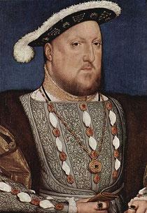 Henri VIII peint en 1537, Musée Thyssen-Bornemisza, Madrid.