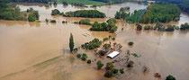 Luftbilder der Flut in Sachsen im Juni 2013 | Rechte: MDR/Sven Böttger