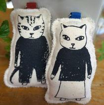 猫夫婦キーリング
