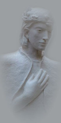 Buste de Saint Louis Cathédrale de Versailles Sculpteur Catherine CAIRN